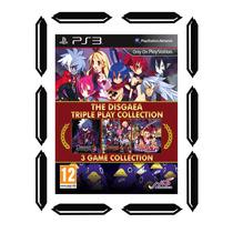 The Disgaea Triple Play Collection Ps3 *nuevo *sellado Cdv