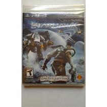 Ps3 Starhawk Limited Edition $325 Pesos Nuevo Vendo / Cambio