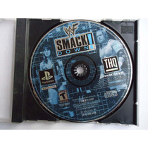 Wwf Smackdown Para Playstation 1 Ps1 Original Lucha Libre