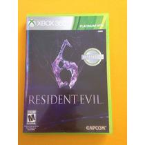 Resident Evil 6 Xbox 360 En Excelente Estado