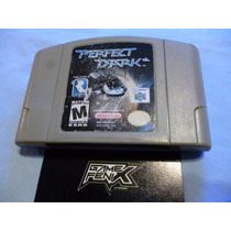 Perfect Dark Para Nintendo 64 N64 Ultra. By Rare. No 007