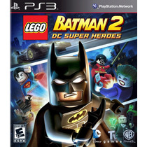 Lego Batman 2 Dc Super Heroes Nuevo Playstation Ps3