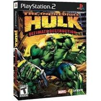 The Incredible Hulk: Ultimate Destrucción - Playstation 2