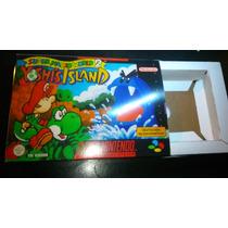 Caja Juego Super Mario World 2 Yoshi Island