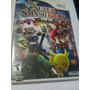 Super Smash Bros Brawl Nintendo Wii Completo Buen Estado