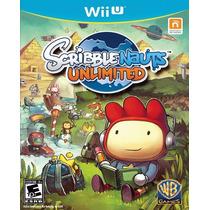Scribblenauts Unlimited Para Nintendo Wii U Nuevo Y Sellado