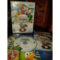 Club Penguin Gameday Completo Para Tu Wii O Wii U Disney