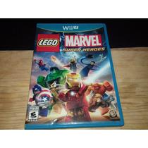 Lego Marvel Super Heroes Nintendo Wii U Excelente Estado