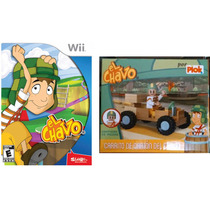 El Chavo Nintendo Wii En Español Incluye Figura Coleccionabl