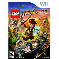 Lego Indiana Jones 2 Nintendo Wii Nuevo Sellado Original