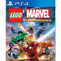 Lego Marvel Super Heroes - Ps4 [físico] Fgk