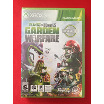 Plants Vs Zombies Garden Warfare Xbox 360 Nuevo Sellado