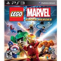 Ps3 - Lego Marvel Super Heroes Gh - Nuevo - Ag
