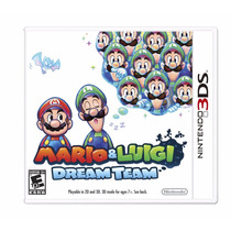 Mario And Luigi Dream Team - Nintendo 3ds, New 3ds, 2ds