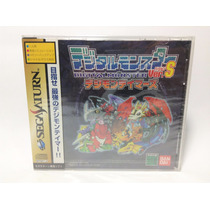 Digimon Digital Monster Version S Digimon Tamers Sega Saturn