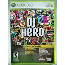 Dj Hero Para Xbox 360