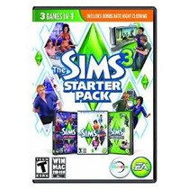 Los Sims 3 Starter Pack - Pc / Mac