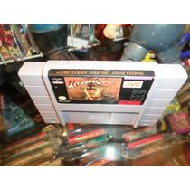 Indiana Jones Super Nintendo Snes Cartucho Super Nes
