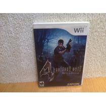 Resident Evil 4 Edicion Wii