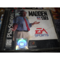 Madden 98 Para Playstation 1 Ps One