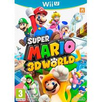 Wii U - Super Mario 3d Worlds (acepto Mercado Pago Y Oxxo)