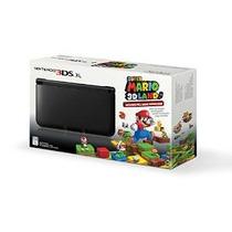 Negro Nintendo 3ds Xl Con (pre-instalado) Juego 3d Land Supe