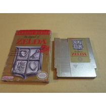 The Legend Of Zelda Nintendo Nes Caja Y Cartucho