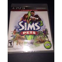 The Sims 3 Pets Ps3 Buenas Condiciones Ge1