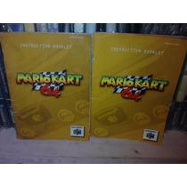 Mario Kart 64 Manual Nintendo 64