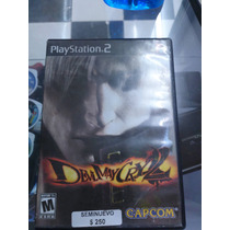 Devil May Cry 2 Seminuevo Para Ps2 En Igamers