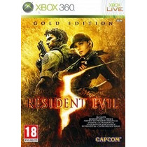 Resident Evil 5: Gold Edition X360