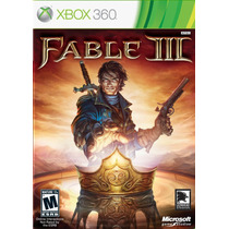 Fable 3 Xbox 360 Nuevo Blakhelmet E