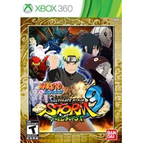 Naruto Shippuden: Ultimate Ninja Storm 3 Full Burst Nueva