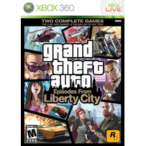 Grand Theft Auto Episodes From Liberty City Xbox 360 Nuevo