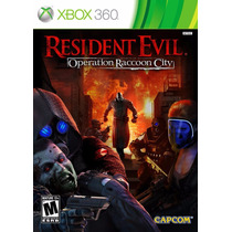 Resident Evil Operation Raccoon City Nuevo Sellado Xbox 360