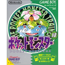 Pokemon Verde Game Boy Japones