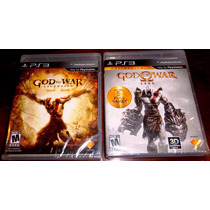Lote Videojuegos God Of War Ascension Y Saga Collection Ps3
