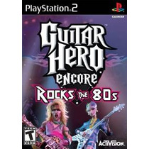 Guitar Hero Encore: Rocks Los Años 80 - Playstation 2
