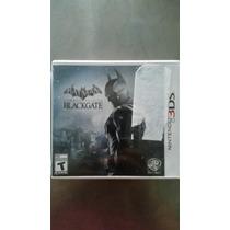 Batman Blackgate Nintendo 3ds Nuevo Sellado Original