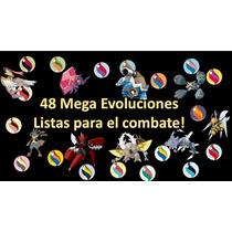 Pokemon Shiny Competitivo Paquete Mega Evoluciones!