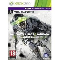 Splinter Cell Blacklist X360