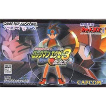 Battle Network Rockman Exe 3 Black Gameboy Advance Gba Raro