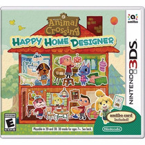 Animal Crossing: Happy Home Designer Para 3ds En Start Games