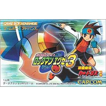 Battle Network Rockman Exe 3 / Mega Man Battle Net White Gba
