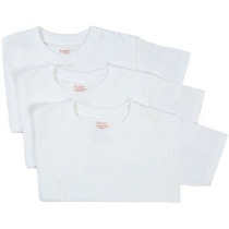 Hanes Chavales 3-pack Red Label Crew Neck Camisetas