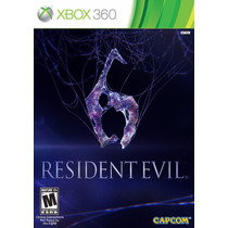 Resident Evil 6 - Xbox 360 - Usado