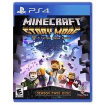 Minecraft: Story Mode - A Telltale Para Ps4 En Start Games