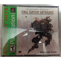 Juego Para Ps1, Ps2 Ó Ps3 Final Fantasy Anthology ¡original!