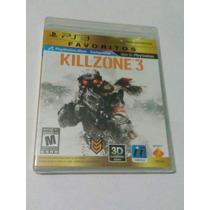 Killzone 3 Ps3 Playstation Nuevo Sellado