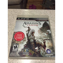 ¡remato Assassins Creed 3 Ps3!